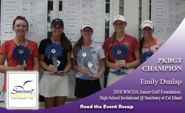 Recap: 2018 WSCGA Junior Golf Foundation High School Invitational