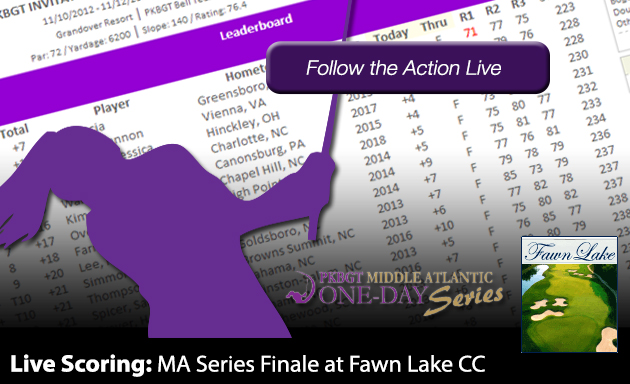 Update: MA Series Finale at Fawn Lake CC