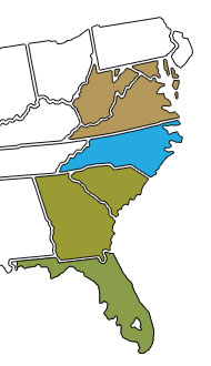 PKBGT Regional Series Map